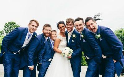 MR & MRS HUGHES WEDDING