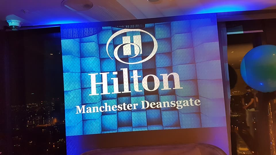 Logo Projection Hire Manchester