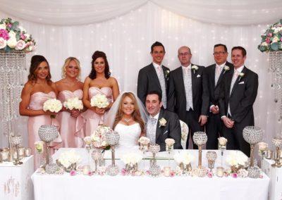 Bride & Groom just married at Mottram Hall