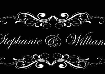 Wedding Names In Lights