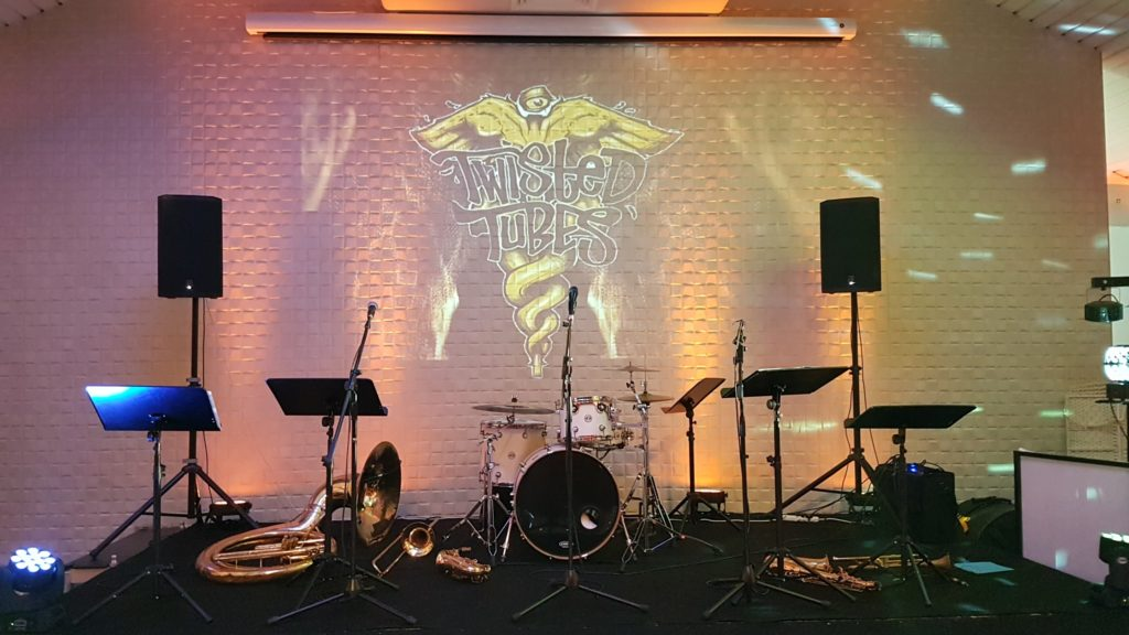 Band Logo Projection