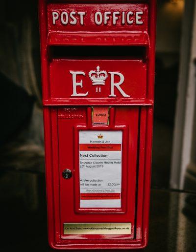 The Elizabeth Regina Post Box